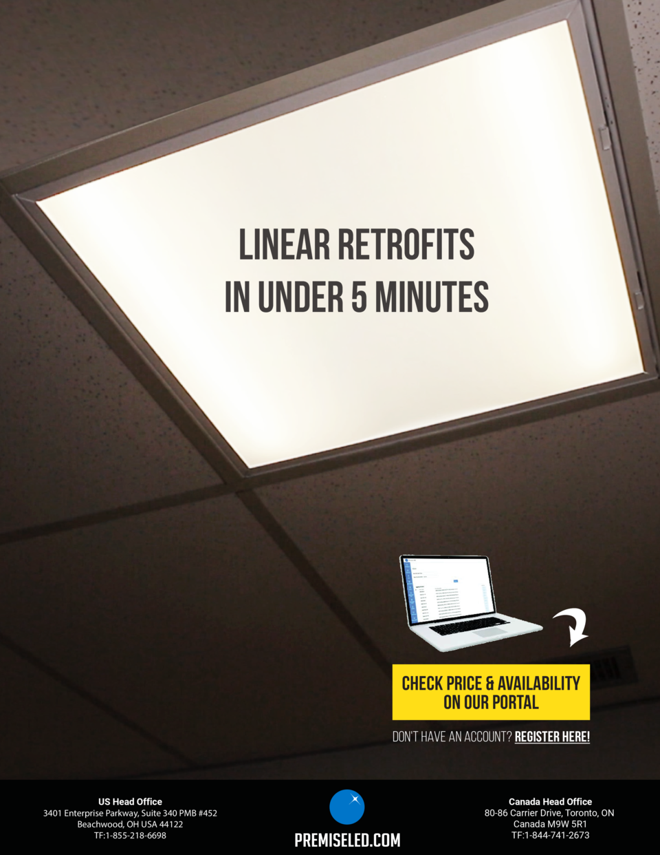 PRODUCT  FEATURE  INTRODUCING  RK1 SERIES  LED Linear Retrofit Kit  The RK1 uses the housing of your existing fixture and ...